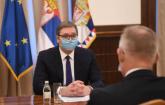 Vučić se sastao sa novoizabranim šefom Misije OEBS-a FOTO