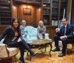 Vučić se sastao sa novom generalnom sekretarkom predsednika Suzanom Paunović FOTO