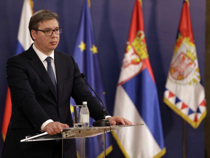 Predsednik Vučić o sinoćnjim protestima: Jasan upliv ne samo kriminalnog, već i inostranog faktora