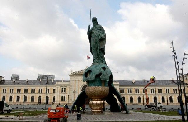 Vučić sutra na svečanosti otkrivanja spomenika Stefanu Nemanji