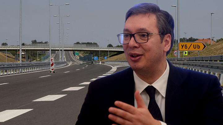 Vučić sutra pušta u saobraćaj autoput Miloš Veliki