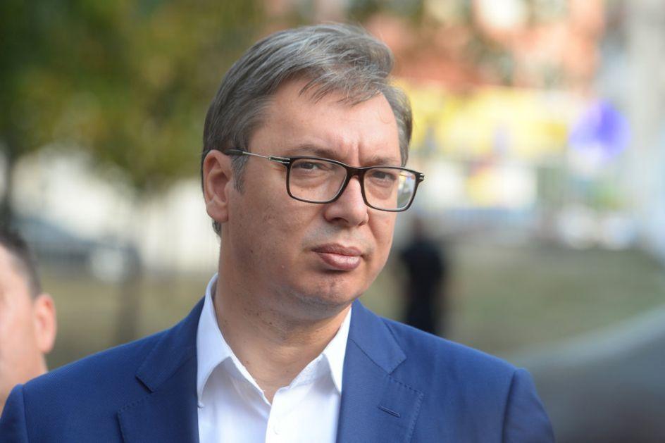 Vučić stigao u zvaničnu posetu Vatikanu