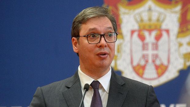 Vučić u Bratislavi o Kosovu