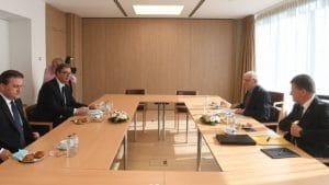 Vučić nakon razgovora sa Kurtijem: Ovakvom sastanku još nisam prisustvovao (FOTO)