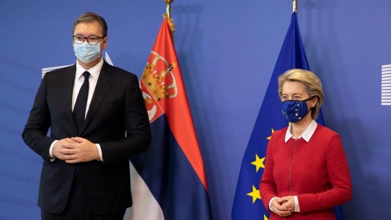 Vučić u Briselu sa zvaničnicima Evropske unije: Glavna tema Kosovo