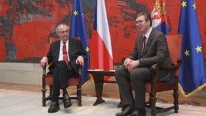 Zeman se izvinio Srbiji za NATO bombardovanje 1999. godine
