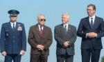 Vučić u Pranjanima na obeležavanju 75. godišnjice Operacije Halijard