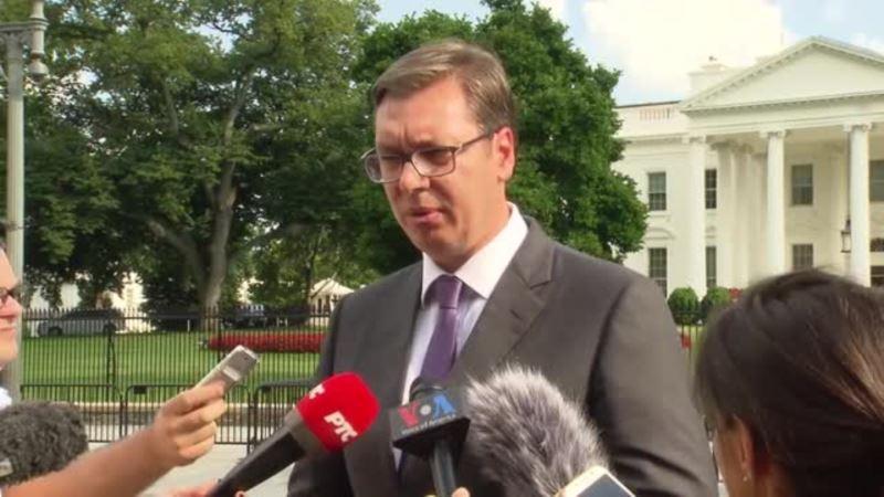 Vučić u Vašingtonu: Izvanredan sastanak sa Pensom, razgovarali i o Rusiji