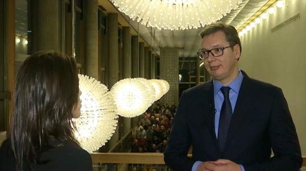 Vučić za RTS: Čuvaćemo mir i unapređivati odnose sa Hrvatskom
