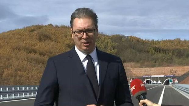 Vučić za RTS: Građani Srbije su finansirali izgradnju Koridora