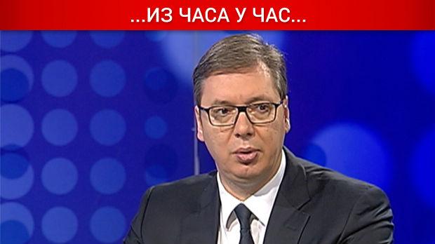 Vučić za RTS: Moja borba za Kosovo kao borba Davida protiv Golijata