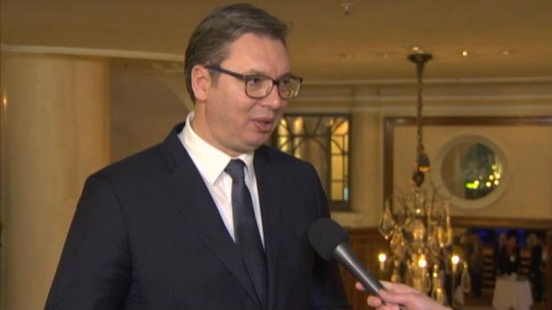 Vučić za RTS: Žestoko za okruglim stolom sa Kurtijem