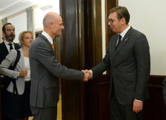 Vučić zahvalio Holandiji na podršci: Odnosi dveju zemalja dobri