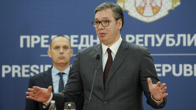 Vučića pitali o opozivu Trampa: Ne bih da se mešam, ali...