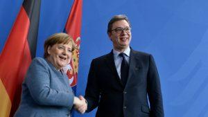 Vučićeva čestitka Merkel