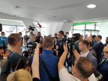 Vučićevo otvaranje zgrade za naučnike u Nišu - gužve uprkos epidemiji, govori uprkos tvrdnjama da nije kampanja