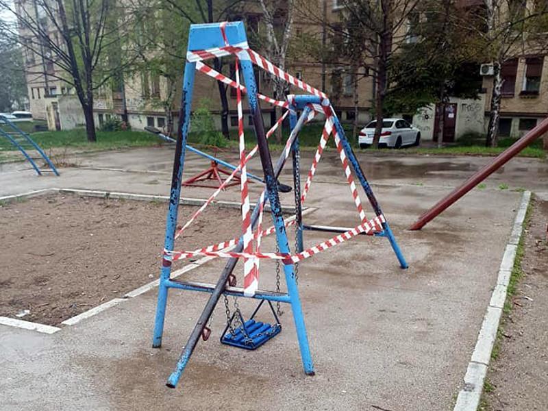 Vučković: Obezbeđena ljuljaška koja je pala i saniraće se od ponedeljka