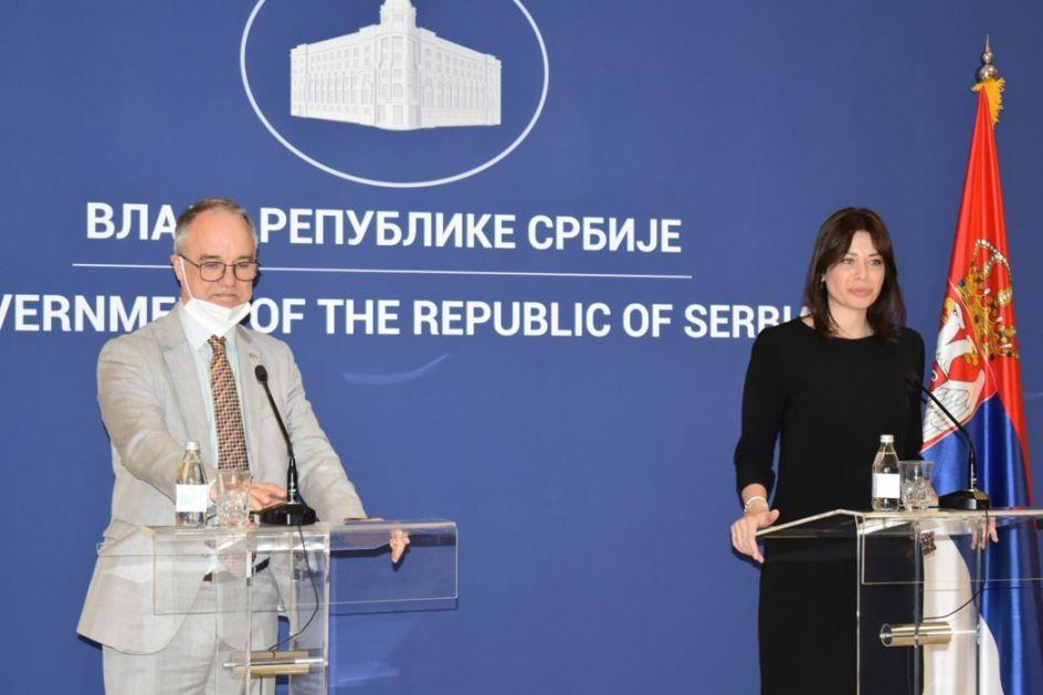 Vujović i Lundin potpisali sporazum: Švedska ulaže još 600.000 evra za eko projekte u Srbiji