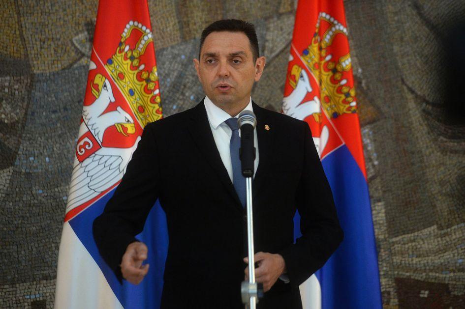 Vulin: Albanci hoće zemlju bez Srba