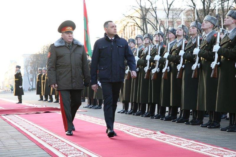 Vulin: Belorusija je važan saveznik Srbije