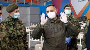Vulin: Od korona virusa su preminula tri pripadnika Vojske Srbije