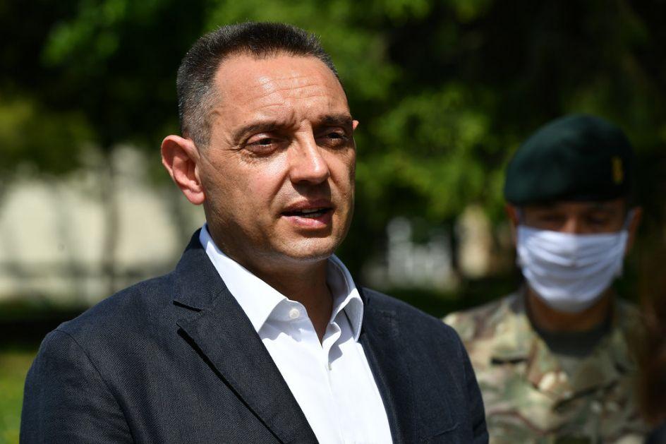 Vulin: Pokušaj državnog udara i nasilnog preuzimanja vlasti