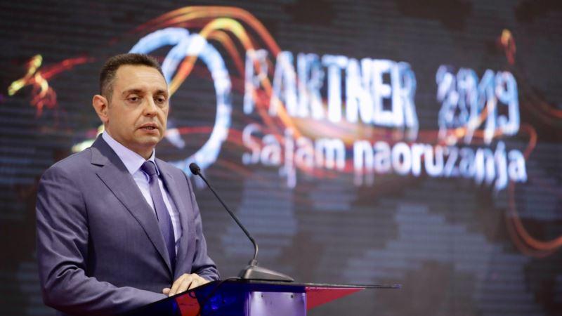 Vulin: Razgovara se o ulasku odbrambene industrije Srbije u vlasničku strukturu u RS