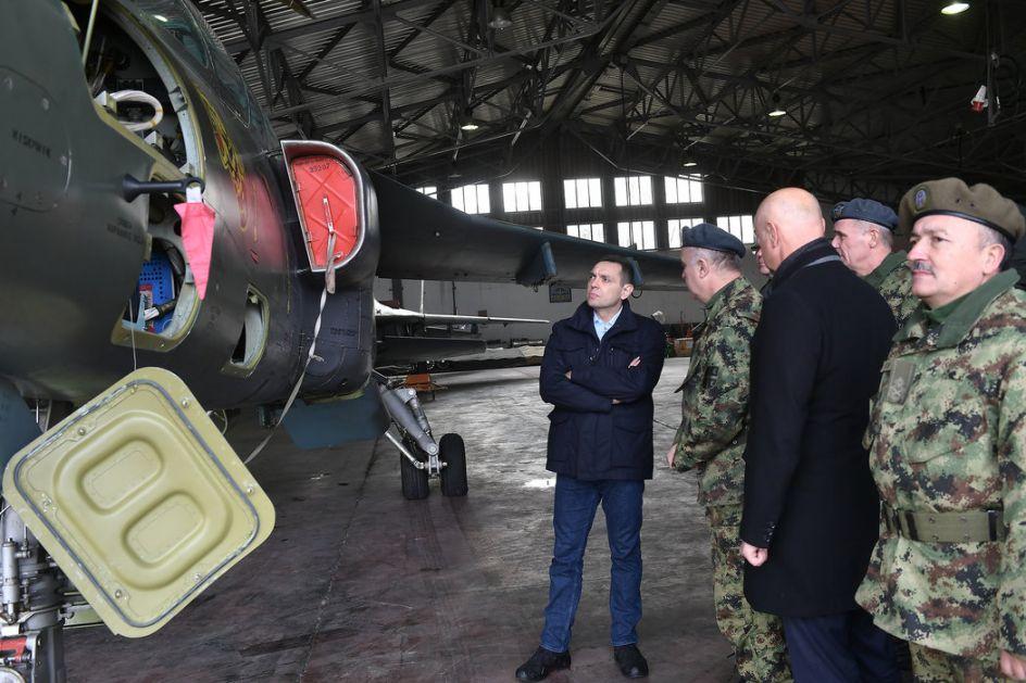 Vulin: Sa modernizovanim vazduhoplovima vojska će biti još moćnija