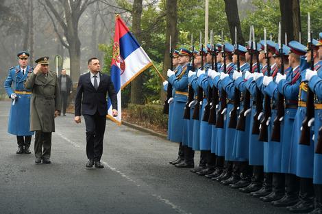 Vulin i Diković ispratili srpske mirovnjake u Centralnoafričku Republiku