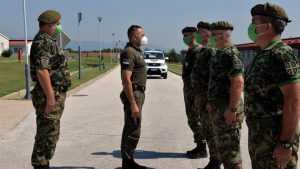 Vulin obišao pripadnike Petog bataljona vojne policije