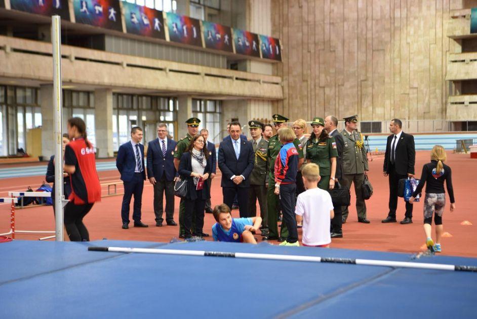 Vulin posetio CSKA: Sport vojnika čini boljim