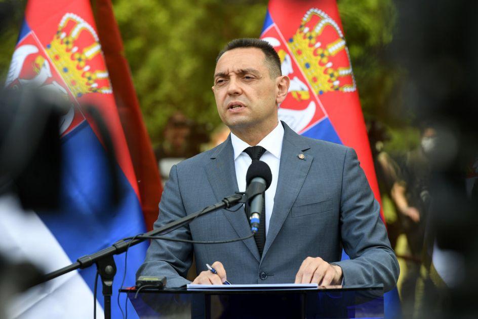 Vulin poslao telegram saučešća Sergeju Šojguu povodom pogibije pripadnika Oružanih snaga