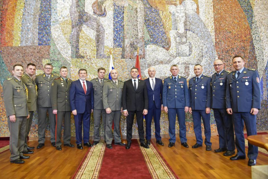 Vulin sa polaznicima Generalštabnog usavršavanja u Moskvi