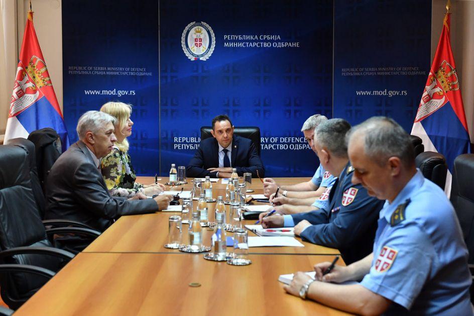 Vulin sa predstavnicima SMATSA i Direktoratom civilnog vazduhoplovstva