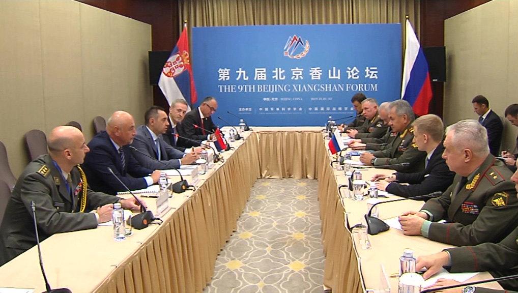 Vulin sa Šojguom u Pekingu: Srbija neće biti deo NATO ili drugog saveza