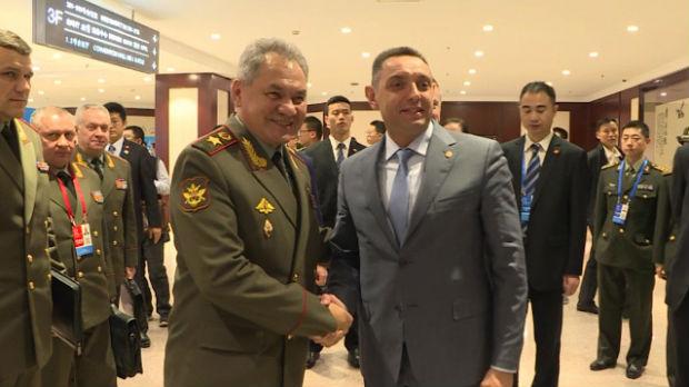 Vulin sa ministrima odbrane Rusije i Belorusije