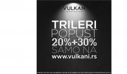 Vulkan: Trileri po sniženim cenama na sajtu Vulkan izdavaštva