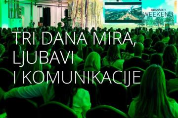 WEEKEND MEDIA FESTIVAL: Tri dana mira, ljubavi i komunikacije!