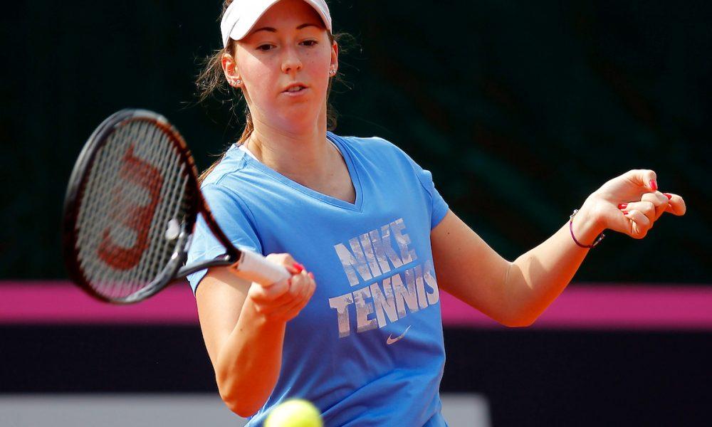 WTA LUKSEMBURG Nina preskočila prvu prepreku