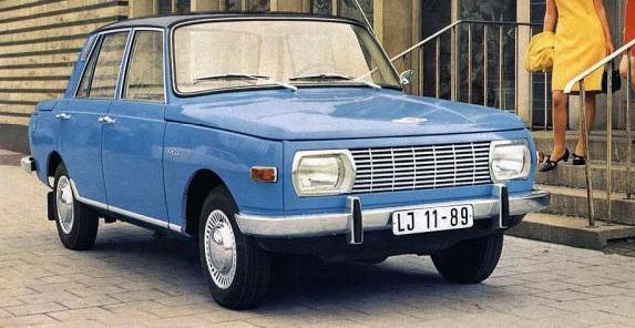 Wartburg 353: prvi primerak proizveden 1. juna 1966. godine
