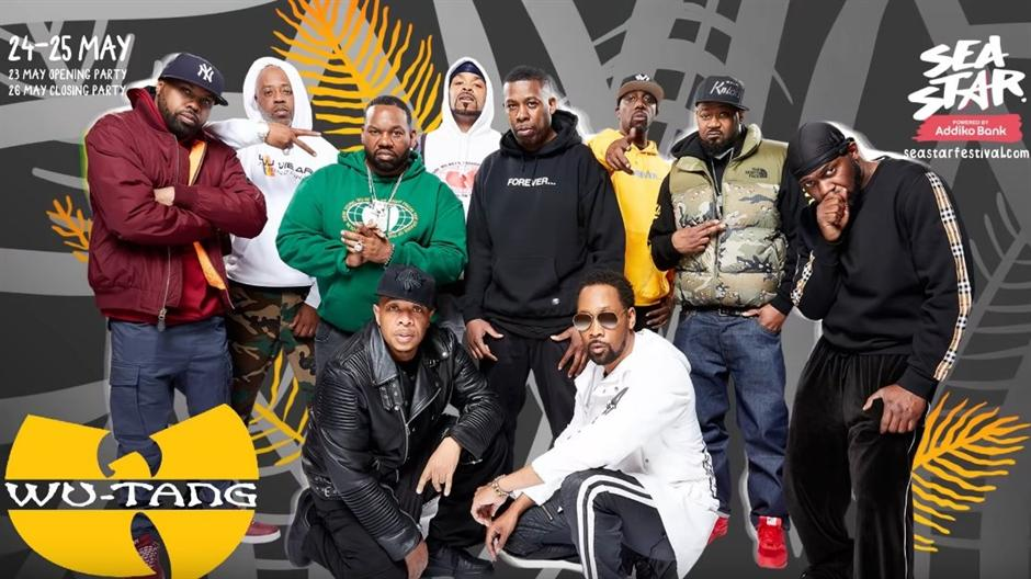 Wu-Tang Clan na Sea Star festivalu! (VIDEO)
