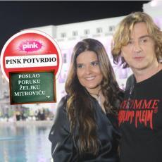 ZA NJEGA JE PINK PLATIO 200.000 EVRA OBEŠTEĆENJA: Žena NIJE za to! A pevač je OBRISAO poruke... (VIDEO)