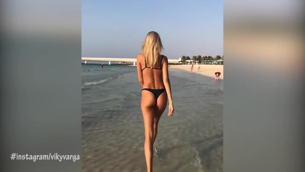 ZA NJU TVRDE DA JE NAJLEPŠA ŽENA FUDBALERA NA SVETU: Ova Mađarica svuda prati svog muža! Pogledajte njenu anđeosku lepotu i savršene obline (18+, VIDEO)