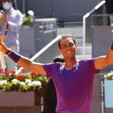 ZA SAMO 69 MINUTA: Rafael Nadal se plasirao u četvrtfinale Madrida