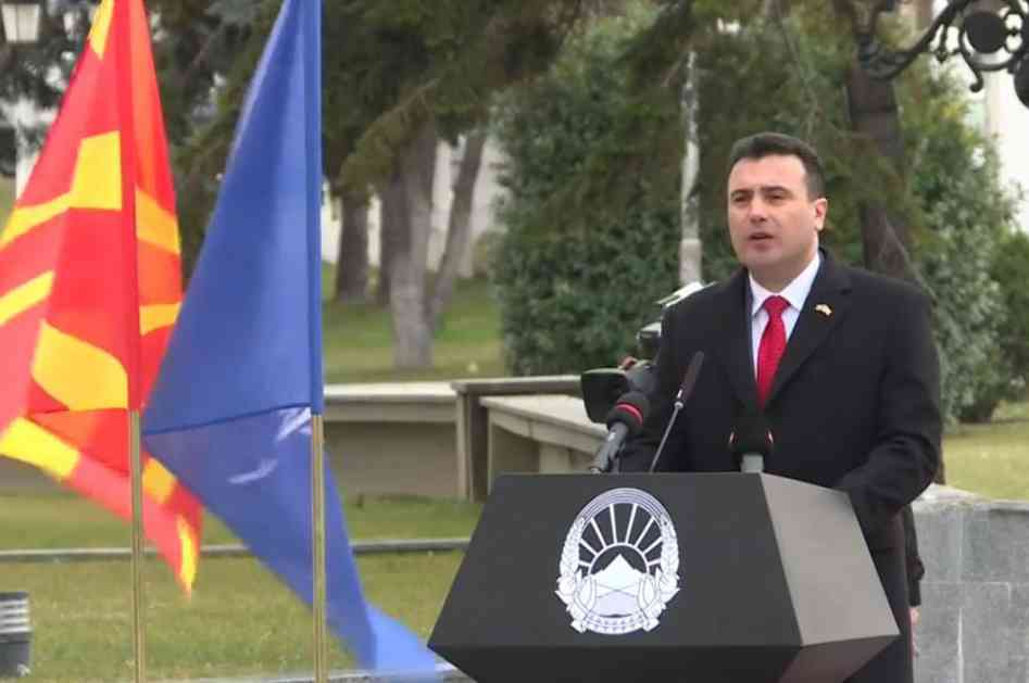 ZAEV NA CEREMONIJI PODIZANJA NATO ZASTAVE: Uspeli smo da se sa sporednog balkanskog koloseka vratimo na na glavni auto-put ka Evropi (VIDEO)