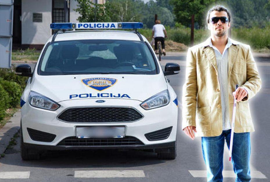 ZAGREBAČKI POLICAJCI BRUTALNO PRETUKLI SLEPOG ČOVEKA: Došli po prijavi zbog drugog, nisu mu dali da pokaže ličnu kartu!