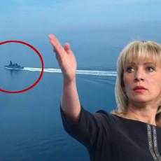ZAHAROVA PROVALILA PRLJAVU IGRU ZAPADA: Zna šta je bio pravi cilj incidenta sa razaračem u Crnom moru