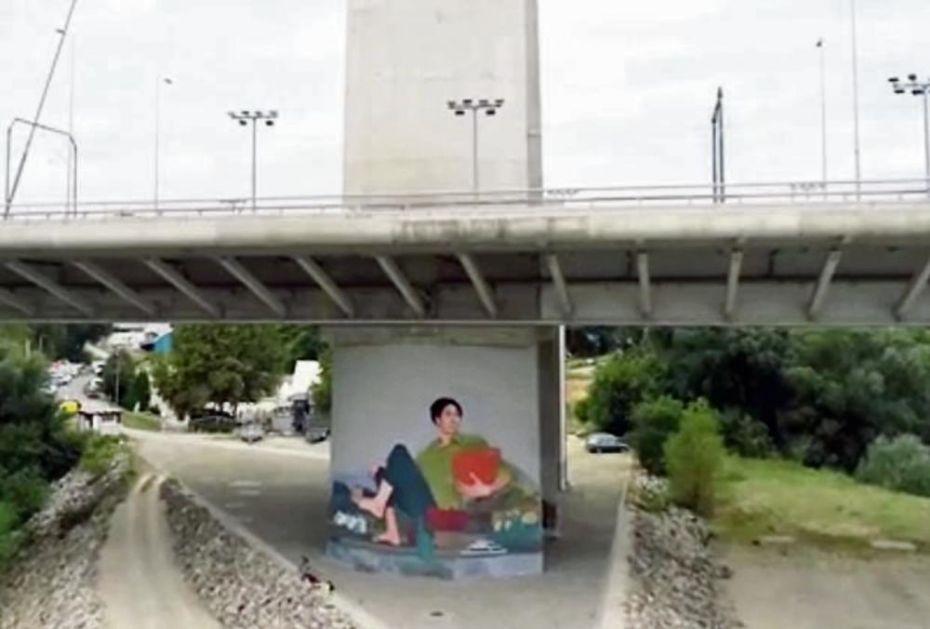 ZASADI DRVO, ZASADI SVOJ KISEONIK: Mural kao podsticaj za zeleniji Beograd