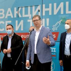 ZAŠTITE I SEBE I DRUGE Vučić poslao jaku poruku svim građanima Srbije i meštanima Zvečke
