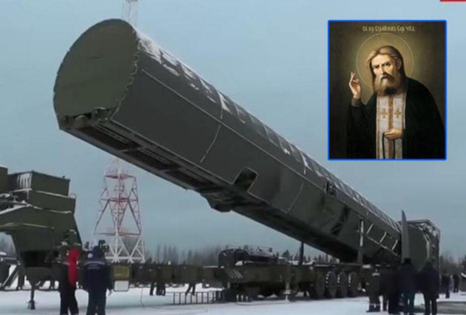 ZAŠTO SVETI SERAFIM SAROVSKI PLAŠI ZAPAD: Svetac je zaštitnik nuklearnih snaga Rusije, a zapadni analitičari nikako ne mogu da shvate vezu pravoslavlja i ruske vojske!